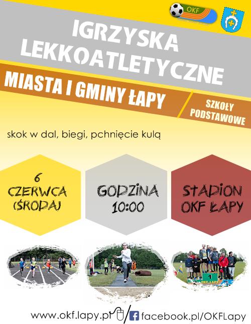 Igrzyska Lekkoatletyczne plakat